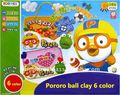 Pororo ball clay 6 color