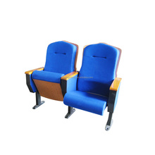 Prevent fading armrests folding movable theater chairs luxury cinema chairs