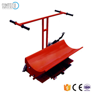 Suntech hydraulic cloth roll doffing trolley with heavy duty