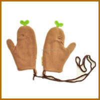 fiver finger winter baby gloves for eczema men working