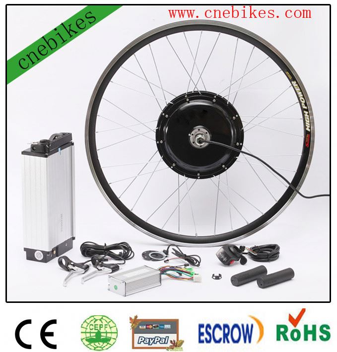 2014 New design !! 1europe popular electric bike kit with lithium battery