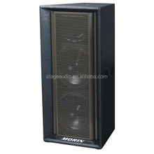 Professional dual 15 inch pa system passive speaker for outdoor with high SPL Morin MA-252