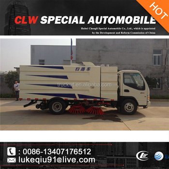 china new street sweeper vehicle