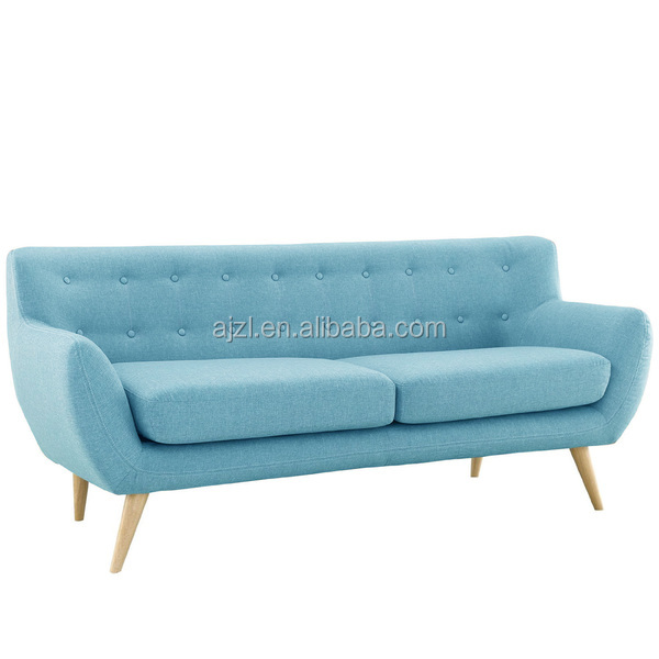 Mid Century Modern Sofa Living Room Furniture with Assorted Colors