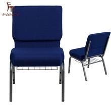 Stackable custom wholesale cheap connected church chairs