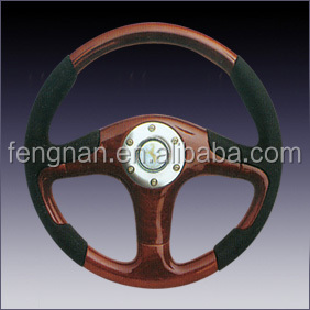 wooden 3X Steering Wheel