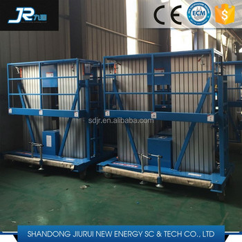 Wholesale hydraulic aluminum alloy aerial working lift