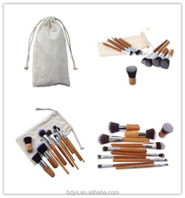 Private Label High Quality 11pcs Makeup foundation <strong>Brush</strong>