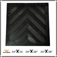 large truck semi trailer rubber mud flap