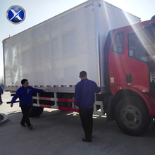 Dry cargo body parts truck box body for sale
