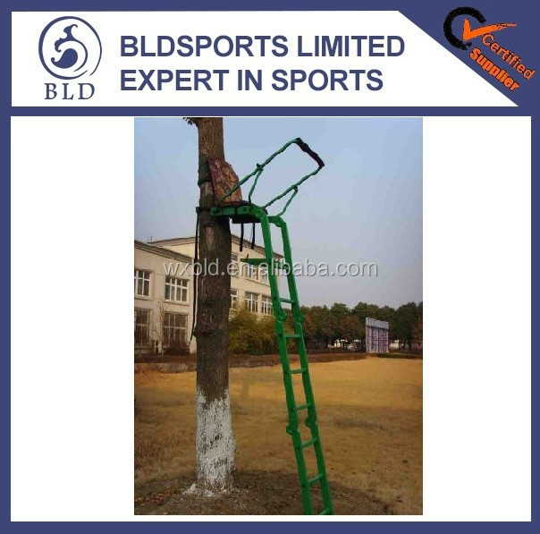 High Quality Wholesale outdoor Aluminum Foldable Hunting Ladder Tree Stands