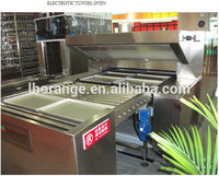 High efficiency &reliable electric &gas bread tunnel oven (gas, electronic) with the factory price