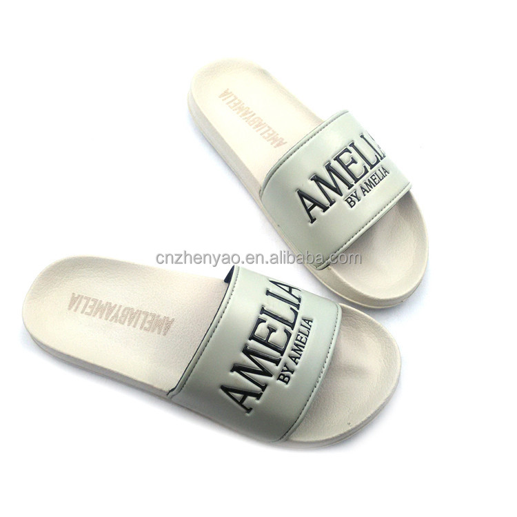 wholesale footwear ladies sandals customized slides