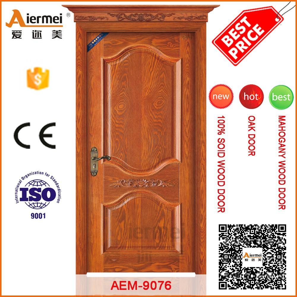Solid Core Wood Skin India Main Door Design Apartment Entry Door ...