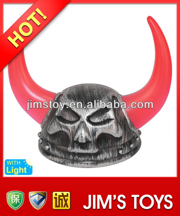 HOT Selling cheap plastic carnival bulk pirate hats with LED light