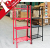4 tier metal kitchen shelf steel hidden floating wall shelf bracket