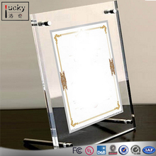 Freestanding Acrylic Frame,2 set of Acrylic Picture Frame