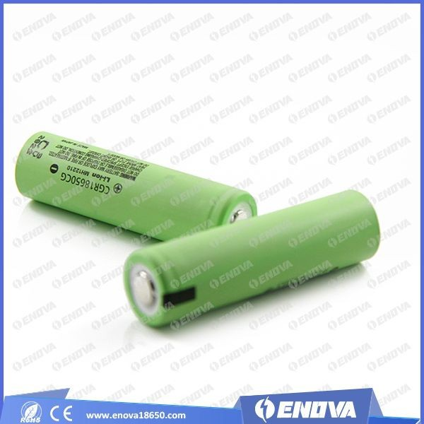 wholesale original for panasonic li ion cgr18650cg 2250mAh rechargeable battery