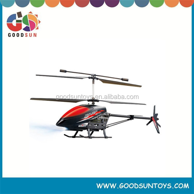 2015 Double blade 4 CH Large alloy helicopter 2.4G 3 Axis GYRO 053326
