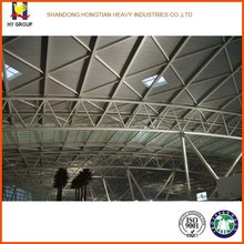 Roofing steel truss