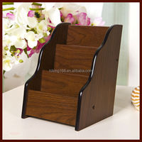 cute fashion stationery mahogany student MDF wood Pen Case