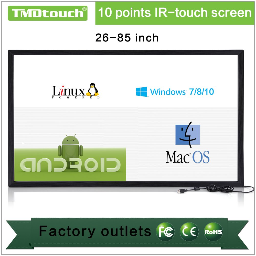 [TMDtouch]infrared ir touch screen frame overlay