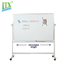 Professional office writing 120*100 cm movable flip chart whiteboard with stand
