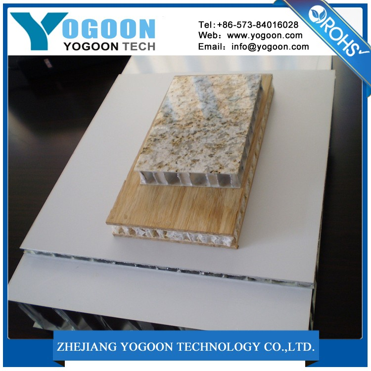 Stone Aluminum Honeycomb Panel With Granite on Top