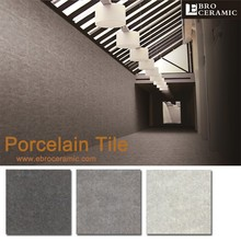 China suppliers Dark Grey Rectified Non-slip courtyard concrete floor tiles made in Foshan 66CM19