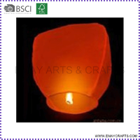Colourful Eco Flying Chinese Wishing Lanterns For Holiday