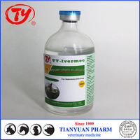 veterinary ivermectin injection L. A. for cattle, sheep, camel, deer