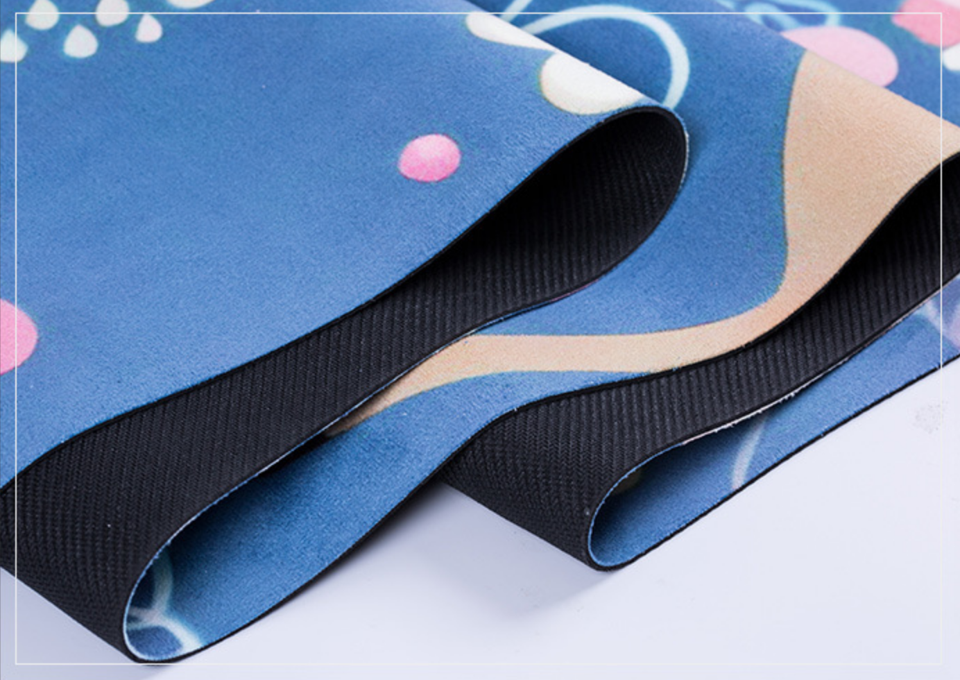Non-slip Eco Friendly Natural Rubber Yoga Mat