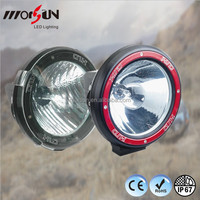 "Morsun 7"" 55W HID Spot Work Light for offroad car Xenon lamp ,4x4 off road lights"