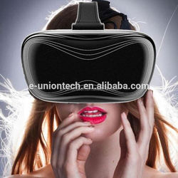 Factory directly sale virtual reality video glasses OEM VR E-unionwith CE ROHS certifications