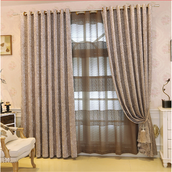New design curtains blackout roller blind fabric electric cutains for the home decor