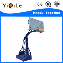 Electro-hydraulic basketball stands fitness equipment