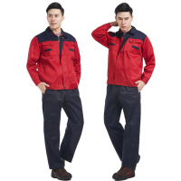 Customizable Men's Long Sleeve safety wear work With Pants work wear jacket high visibility work wear