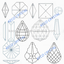 K9 quality crystal chandelier parts, keco crystal is the manufacturer of all types chandelier parts & glass beads