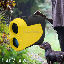 China OEM 1000m long distance waterproof water resistant hunting laser range finder with speed measure hunting rangefinder
