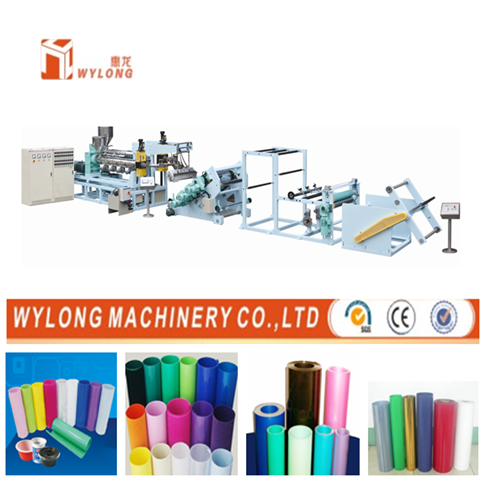 PP PE PS Plastic Sheets Making Machine