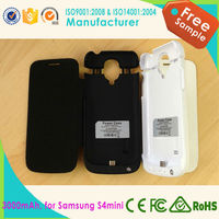 5V/1A 2200mah Phone Charger External Battery Case for Samsung Galaxy S4mini with ce rohs