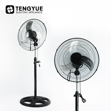 18 inch hot sale electric industrial stand fan 2 in 1 round base