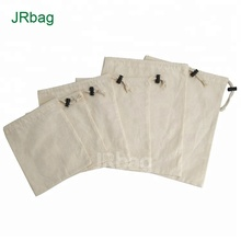 Eco-friendly 100% Natural Cotton Bread Packaging <strong>Bag</strong> Set of 6pcs