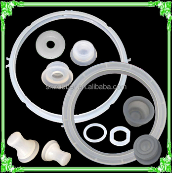 pressure cooker clear silicone rubber sealing ring gasket