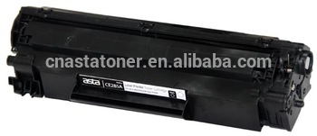 Toner cartridge ce285a original quality compatible cartridge used for hp 85a made in china 285a toner