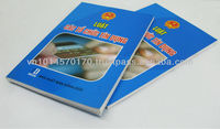 Book printing A5 art paper and perfect binding