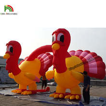 2017 Customized High Quality Inflatable Christmas Turkey For Christmas Holiday