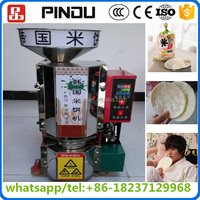 delicious crispy puffed rice cake making machine magic pop /popped rice cake making machines