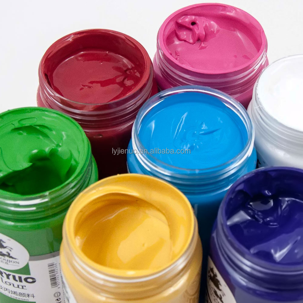 Hot sale! Non-toxic art Acrylic Paint 300 ml per pot