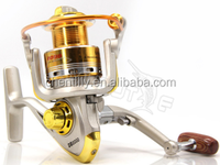 Online wholesale CH3DB-10 2000 10BB ration 5.2:1 Aluminum round metal head line cup spinning fishing reels with low price cheap
